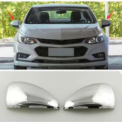 Side Turn Lights Rearview Side Mirror Cover Trim For Chevrolet Cruze 2017 2018