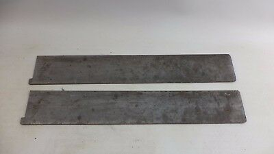 2 Vintage Reto Chrome Youngstown Kitchens Cabinet Silverware Slot Separators