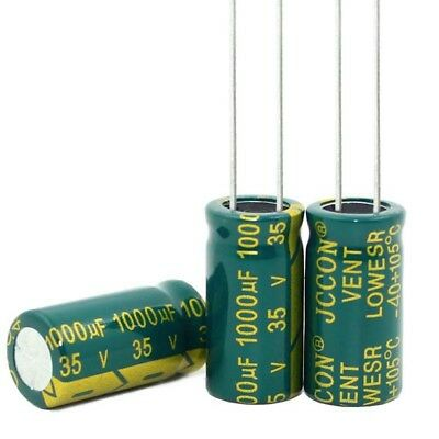 20PC 1000uF 35V High Frequency LOW ESR Radial Electrolytic Capacitors 10x20mm