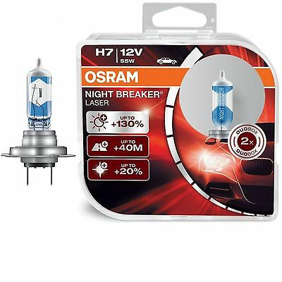 h7 osram night breaker laser car headlight bulbs 55w 130. Black Bedroom Furniture Sets. Home Design Ideas