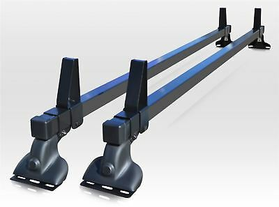To Fit 1995 - 2007 Peugeot Expert Steel PVC Roof Rack Bars 2 Bar System + Stops