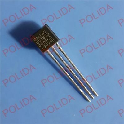 10PCS Digital Thermometer IC DALLAS/MAXIM TO-92 DS18S20 DS18S20+ DS1820