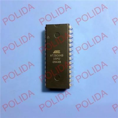 10PCS EEPROM IC Atmel Dip-28 At28C64B-15Pu