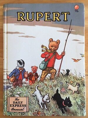 RUPERT ANNUAL 1955 Inscribed Price Intact Puzzles & Painting Untouched VG PLUS