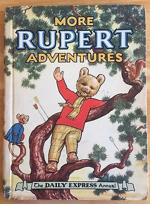 RUPERT ANNUAL 1952 Inscribed Price Intact VG PLUS