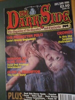The Dark Side magazine  Issue 43 Dec/January 1995 - The Forgotten Fulci