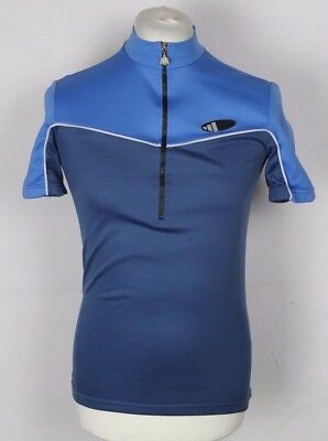 VINTAGE ADIDAS CYCLING Jersey Top Mens Size Small Blue - £9.60 ... 3603a89e2