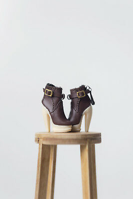 "SHANTOMMO's Shoe (MOCHA Boots) for 12"" Fashion Royalty/NuFace Dolls"