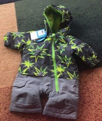 c1e0bf6a2 BABY BOYS COLUMBIA Little Dude 0-3 Months Snowsuit Nwt -  40.49 ...