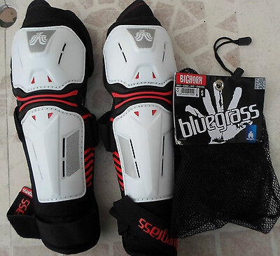 bluegrass Bighorn Knee/Shin Guard leg protector white Size S