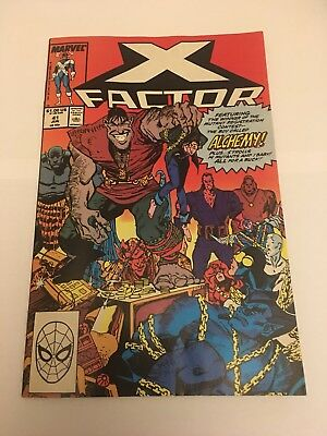 MARVEL LIMITED EDITION X FACTOR #41 NM CONDITION pre owned