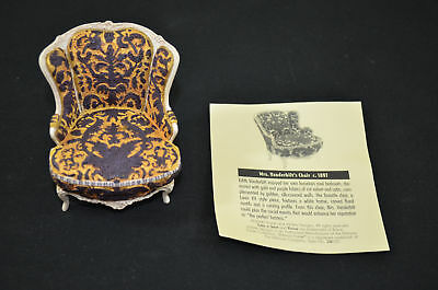 New Raine Take A Seat 24030 Willits Mrs. Vanderbilt's Chair 1535#3