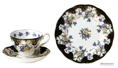 royal albert duchess set 6 tazze the  c/p + 6 piattini dessert