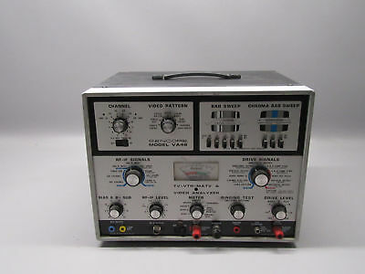 Sencore VA48 TV-VTR-MATV Video Analyzer Testing Machine *For Parts*