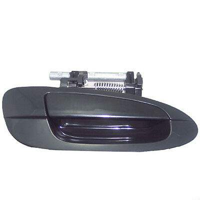 Front Right Passenger Side Exterior smooth Black Outside Door Handle