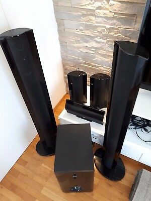 teufel ultima 40 mk2 5 1 system dolby surround dolby digital eur 56 00 picclick de. Black Bedroom Furniture Sets. Home Design Ideas