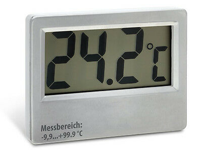 Sauna Thermometer large up to 100°C Cable length: 5m digital LCD