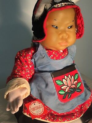 Chinese Peasant Boy Doll by Michael Lee, Hong Kong's Iconic Doll Maker