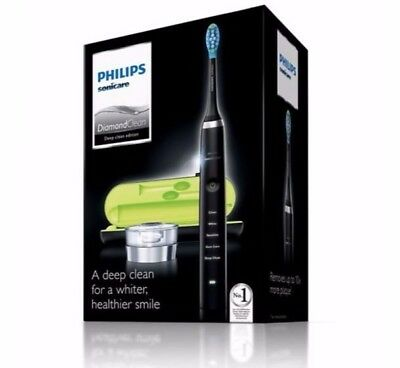 Philips Sonicare HX9351/52 Black DiamondClean Electric Toothbrush