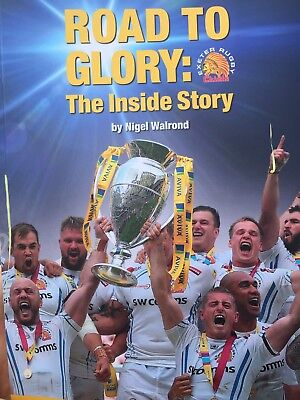Exeter Chiefs book rugby