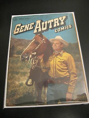 Wow! GENE AUTRY Comics #6 1947 (FN) **Early Dell Western Comic!**