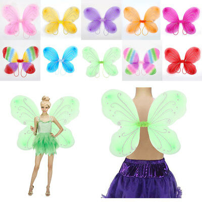 Adult Butterfly Wings Fairy Dress Up Christmas Halloween Photo Props Supplies