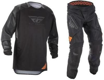 2018 Fly Racing Patrol XC Offroad Jersey or Pant Gear  Black Gray Dirt Bike