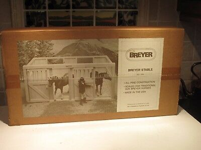 """Vintage Large Wooden Breyer Stable Model # 276 New In Box"""" Never Opened"""" Mint"""