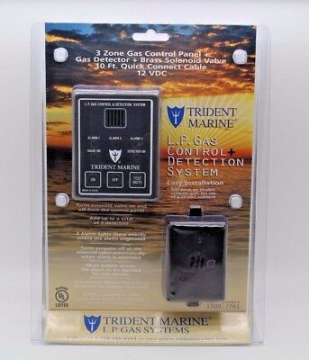 Trident Marine 3 Zone L.P. Gas Control + Detection System, 10ft Cable 1300-7761