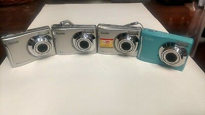 4 - Kodak Easyshare Cameras C140 and CD14 -   PARTS ONLY    AS IS