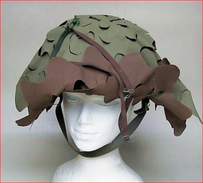 Yugoslavian helmet camo cover (a.k.a. salad cover) ORIGINAL EXCELLENT CONDITION
