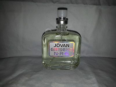 Jovan ginseng By Coty 100% Authentic Cologne Spray 1.6 oz NWOB Read no-cap