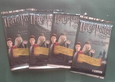 Artbox Harry Potter & the Half Blood Prince Update 4 Unopened Sealed Packs
