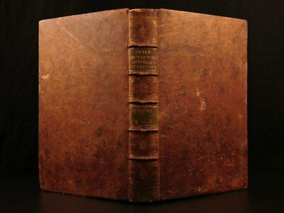1741 HUGE FOLIO Pierre Bayle Historical Dictionary, 18th Century ( 1700s )