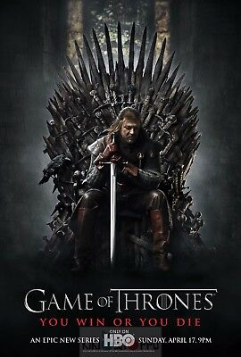 Poster A3 Juego de Tronos Ned Stark / Game Of Thrones Serie Cartel 01