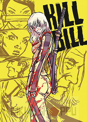 Poster A3 Kill Bill Comic 01
