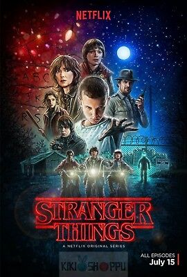 Poster A3 Stranger Things Serie Cartel 02