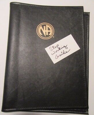 Narcotics Anonymous NA Step Working Guide COVER  BLACK