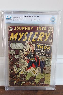 Journey Into Mystery 84 - 2nd Thor - CBCS 2.5 (GD+) - OW/W Pages - FREE SHIPPING