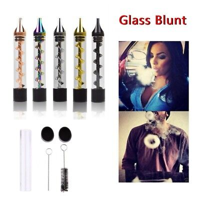 7pipe 2 7 pipe 2 Series Twisty Glass Blunt Tube Pipe Blunt Twisty High Dry Tube