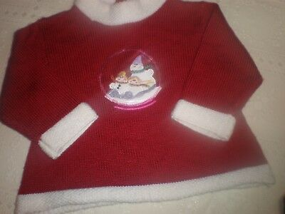 ~Super Sweet Baby Girl Christmas Sweater...12 Months...3.99