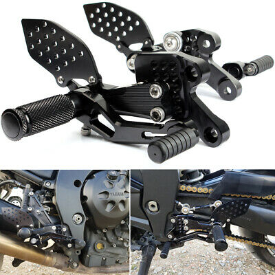 Yamaha FZ1 Fazer 2006-2013 CNC Billet Foot pegs Rear sets Rearsets Rear set