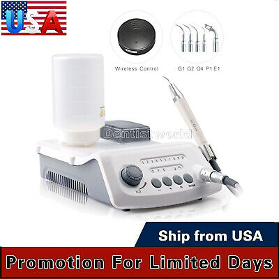UPS Dental LED Cordless Control Ultrasonic Scaler With LED Detachable Handpiece