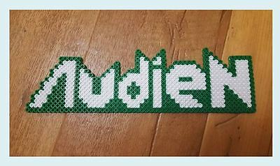 Audien perler art necklace rave melty edm edc sprite hama plur