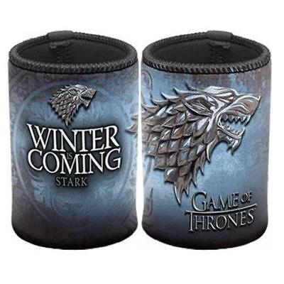 Game of Thrones Stark Can Cooler Stubby Holder Winter Is Coming