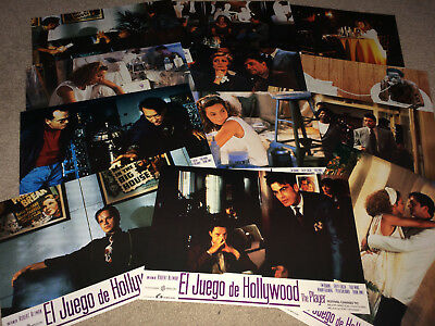 THE PLAYER Movie Lobby Card Poster Set 1992 Robert Altman Hollywood Satire