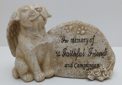 STAFFY. FAITHFUL Pet Dog Memorial RIP Plaque Garden Indoor Ornament BULL TERRIER