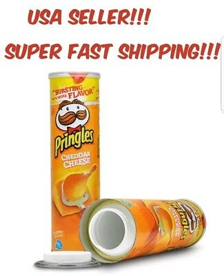 Pringles CHEDDAR CHEESE Stash Can Diversion Secret Container Safe Large Money