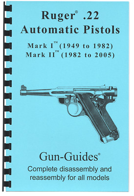 RUGER MINI 14 Manual Book Takedown 30 Deerfield Guide direct from