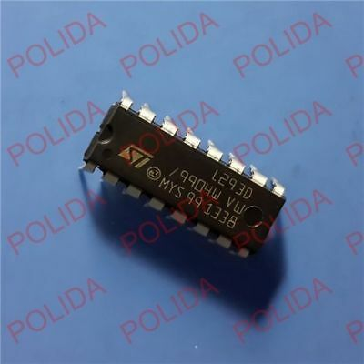 10PCS Push-Pull Four-Channel Motor Driver IC ST DIP-16 L293D